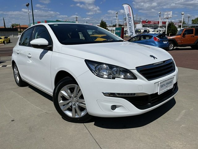 Used Peugeot 308 T9 Update Active Victoria Park, 2016 Peugeot 308 T9 Update Active White 6 Speed Automatic Hatchback