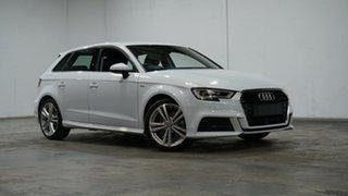 2020 Audi A3 8V MY20 40 TFSI Sportback S Tronic S Line Plus White 7 Speed.