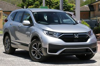 2020 Honda CR-V RW MY21 VTi 4WD L AWD Lunar Silver 1 Speed Constant Variable Wagon.