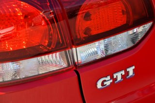 2010 Volkswagen Golf VI MY10 GTI DSG Red 6 Speed Sports Automatic Dual Clutch Hatchback