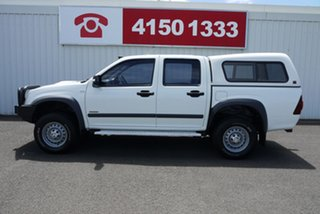 2008 Holden Rodeo RA MY08 LX Crew Cab 60th Anniversary White 5 Speed Manual Utility
