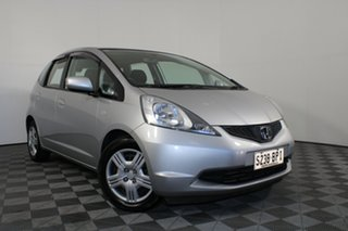 2010 Honda Jazz GE MY11 VTi Silver 5 Speed Automatic Hatchback.