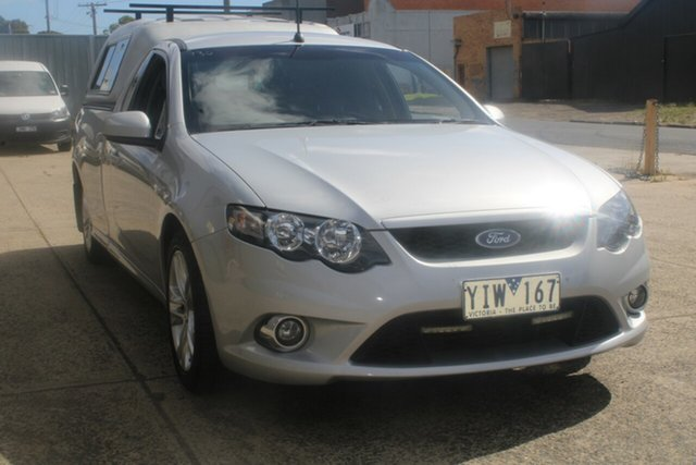 Used Ford Falcon FG MK2 XR6 West Footscray, 2011 Ford Falcon FG MK2 XR6 Silver 6 Speed Manual Utility