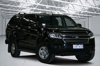 2016 Holden Colorado RG MY16 LS (4x2) Black 6 Speed Automatic Crew Cab Pickup.