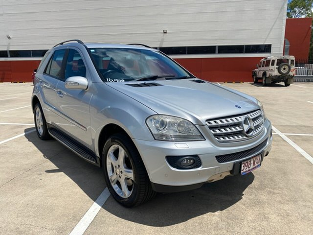 Used Mercedes-Benz ML320 CDI W164 08 Upgrade Luxury (4x4) Morayfield, 2008 Mercedes-Benz ML320 CDI W164 08 Upgrade Luxury (4x4) Silver 7 Speed Automatic G-Tronic Wagon
