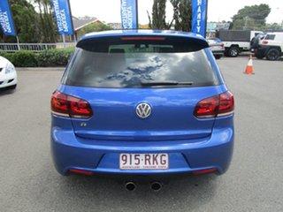 2010 Volkswagen Golf VI MY11 R DSG 4MOTION Blue 6 Speed Sports Automatic Dual Clutch Hatchback