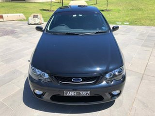 2008 Ford Falcon BF Mk II XR6 Ute Super Cab Black 4 Speed Sports Automatic Utility