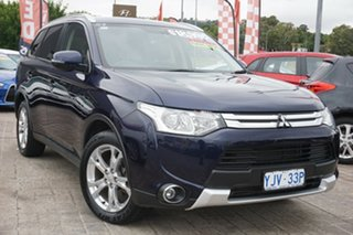 2014 Mitsubishi Outlander ZJ MY14.5 LS 4WD Blue 6 Speed Sports Automatic Wagon.