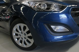 2015 Hyundai i30 GD3 Series 2 Active Blue 6 Speed Automatic Hatchback.