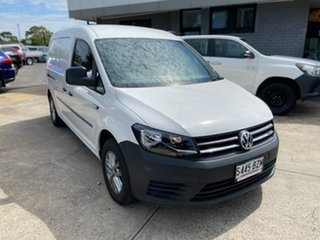 2018 Volkswagen Caddy 2KN MY19 TDI250 Maxi DSG White 6 Speed Sports Automatic Dual Clutch Van.