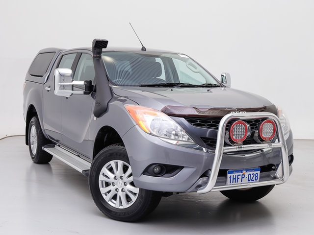 Used Mazda BT-50 MY13 XTR (4x4), 2013 Mazda BT-50 MY13 XTR (4x4) Grey 6 Speed Automatic Dual Cab Utility