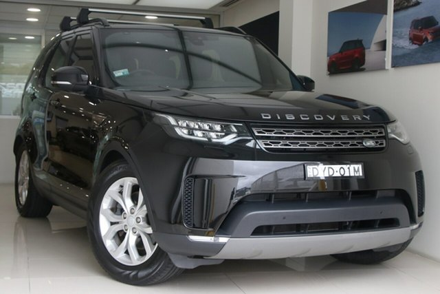 Used Land Rover Discovery Series 5 L462 MY18 SE Brookvale, 2018 Land Rover Discovery Series 5 L462 MY18 SE Black 8 Speed Sports Automatic Wagon