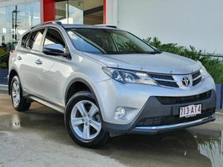 2014 Toyota RAV4 GXL Turbo Diesel Silver 6 Speed Automatic Wagon.