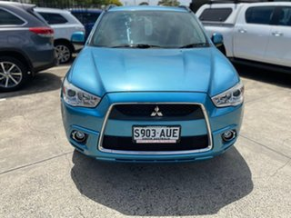 2011 Mitsubishi ASX XA MY12 Aspire Blue 6 Speed Constant Variable Wagon