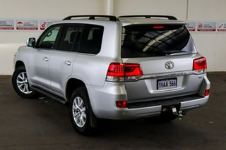 2020 Toyota Landcruiser VDJ200R VX Silver Pearl 6 Speed Sports Automatic Wagon.