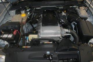 2011 Ford Falcon FG MK2 XR6 Silver 6 Speed Manual Utility