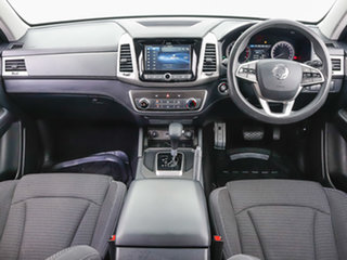 2019 Ssangyong Musso Q200 MY19 ELX White 6 Speed Automatic Dual Cab Utility