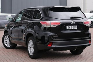 2015 Toyota Kluger GSU50R GX 2WD Black 6 Speed Sports Automatic SUV.