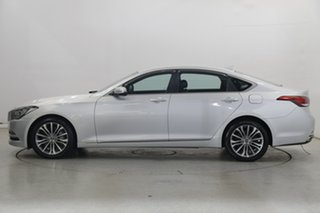 2014 Hyundai Genesis DH Silver 8 Speed Sports Automatic Sedan.