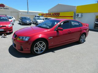 2010 Holden Commodore VE II SV6 Red 6 Speed Automatic Sedan