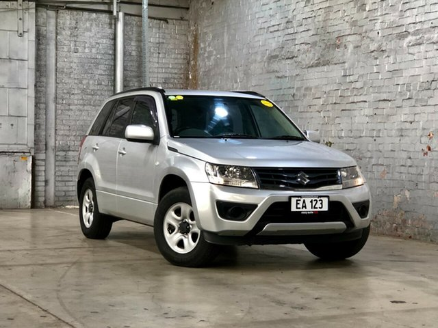 Used Suzuki Grand Vitara JB MY13 Urban 2WD Mile End South, 2012 Suzuki Grand Vitara JB MY13 Urban 2WD Silver 5 Speed Manual Wagon