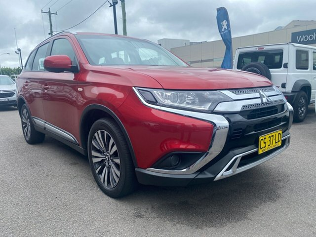 Used Mitsubishi Outlander ZL MY18.5 ES AWD Cardiff, 2018 Mitsubishi Outlander ZL MY18.5 ES AWD Burgundy 6 Speed Constant Variable Wagon