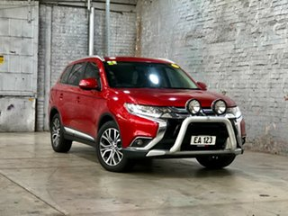 2016 Mitsubishi Outlander ZK MY16 XLS 2WD Red 6 Speed Constant Variable Wagon.