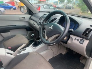 2008 Mitsubishi Triton GXL White 5 Speed Manual Dual Cab