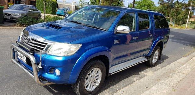 Used Toyota Hilux KUN26R MY12 SR5 (4x4) Prospect, 2012 Toyota Hilux KUN26R MY12 SR5 (4x4) Blue 4 Speed Automatic Dual Cab Pick-up
