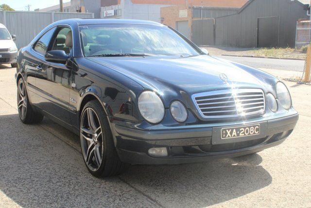 Used Mercedes-Benz CLK320 Elegance West Footscray, 1999 Mercedes-Benz CLK320 Elegance Black Opal 5 Speed Automatic Coupe