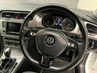 2014 Volkswagen Golf VII MY14 90TSI DSG White 7 Speed Sports Automatic Dual Clutch Wagon