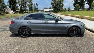 2020 Mercedes-Benz C-Class W205 801MY C63 AMG SPEEDSHIFT MCT S Selenite Grey 9 Speed