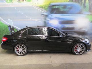2012 Mercedes-Benz E63 212 MY12 AMG Black 7 Speed Auto Direct Shift Sedan.