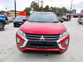 2019 Mitsubishi Eclipse Cross YA MY19 Black Edition 2WD Red 8 Speed Constant Variable Wagon.
