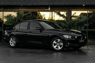 2013 BMW 3 Series F30 MY0413 316i Blue 8 Speed Automatic Sedan.