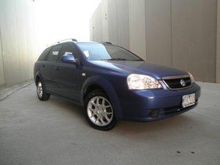 2008 Holden Viva JF MY08 Blue Metallic 5 Speed Manual Wagon.