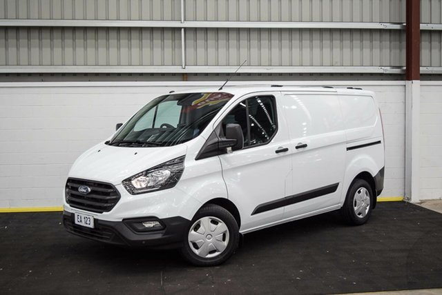 Used Ford Transit Custom VN 2018.75MY 300S (Low Roof) Canning Vale, 2019 Ford Transit Custom VN 2018.75MY 300S (Low Roof) White 6 Speed Automatic Van