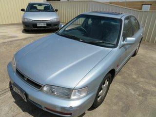 1997 Honda Accord Silver 4 Speed Automatic Sedan.