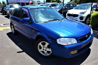 2000 Mazda 323 BJ Astina Blue 4 Speed Automatic Hatchback.