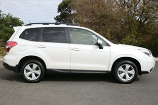 2014 Subaru Forester S4 MY14 2.5i-L Lineartronic AWD Satin White 6 Speed Constant Variable Wagon