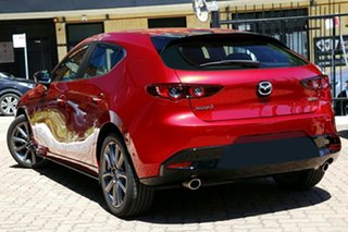 2020 Mazda 3 BP G25 Evolve Vision Soul Red Crystal 6 Speed Automatic Hatchback.