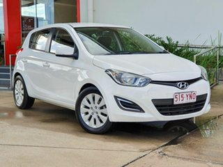 2014 Hyundai i20 Active White 4 Speed Automatic Hatchback.