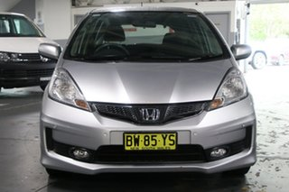 2013 Honda Jazz GE MY12 Update Vibe-S Silver 5 Speed Automatic Hatchback