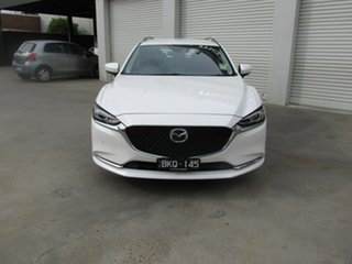 2020 Mazda 6 GL1033 Touring SKYACTIV-Drive White 6 Speed Sports Automatic Wagon.