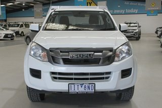 2016 Isuzu D-MAX TF MY15 SX (4x2) White 5 Speed Automatic Crew Cab Chassis