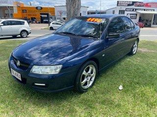 2006 Holden Commodore VZ MY06 Executive Blue 4 Speed Automatic Sedan.