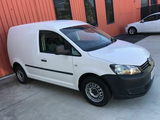 2013 Volkswagen Caddy 2KN MY13 TSI160 SWB Runner White 5 Speed Manual Van