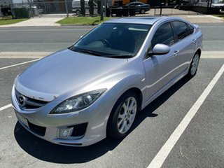 2008 Mazda 6 GH1051 Luxury Silver 5 Speed Sports Automatic Hatchback