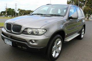2006 BMW X5 E53 MY05 d Steptronic Grey 6 Speed Sports Automatic Wagon.