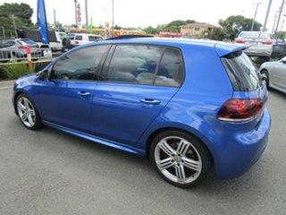 2010 Volkswagen Golf VI MY11 R DSG 4MOTION Blue 6 Speed Sports Automatic Dual Clutch Hatchback.